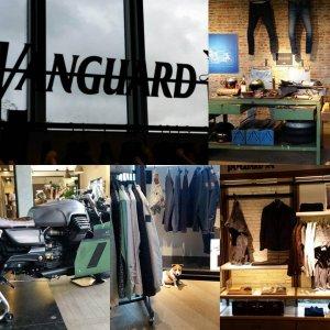 Een kijkje tussen het nieuwe assortiment van Vanguard tijdens inkopen voorjaar zomer 2017