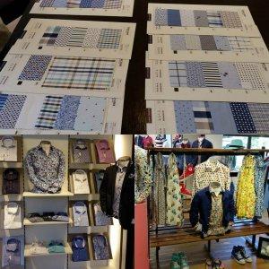 We zien veel kleuren en prints bij Giordano en Today's Man komend voorjaar